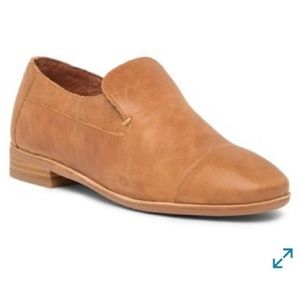 JEFFREY CAMPBELL Bryant Leather Cap Toe Loafer 10